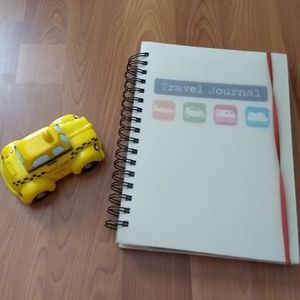 Travel journal and taxi